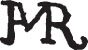 Cover A. M. R.: Signature or Monogram