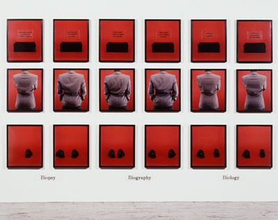 Work by Lorna Simpson