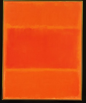 An example of a painting in the style of radical abstraction by Mark Rothko