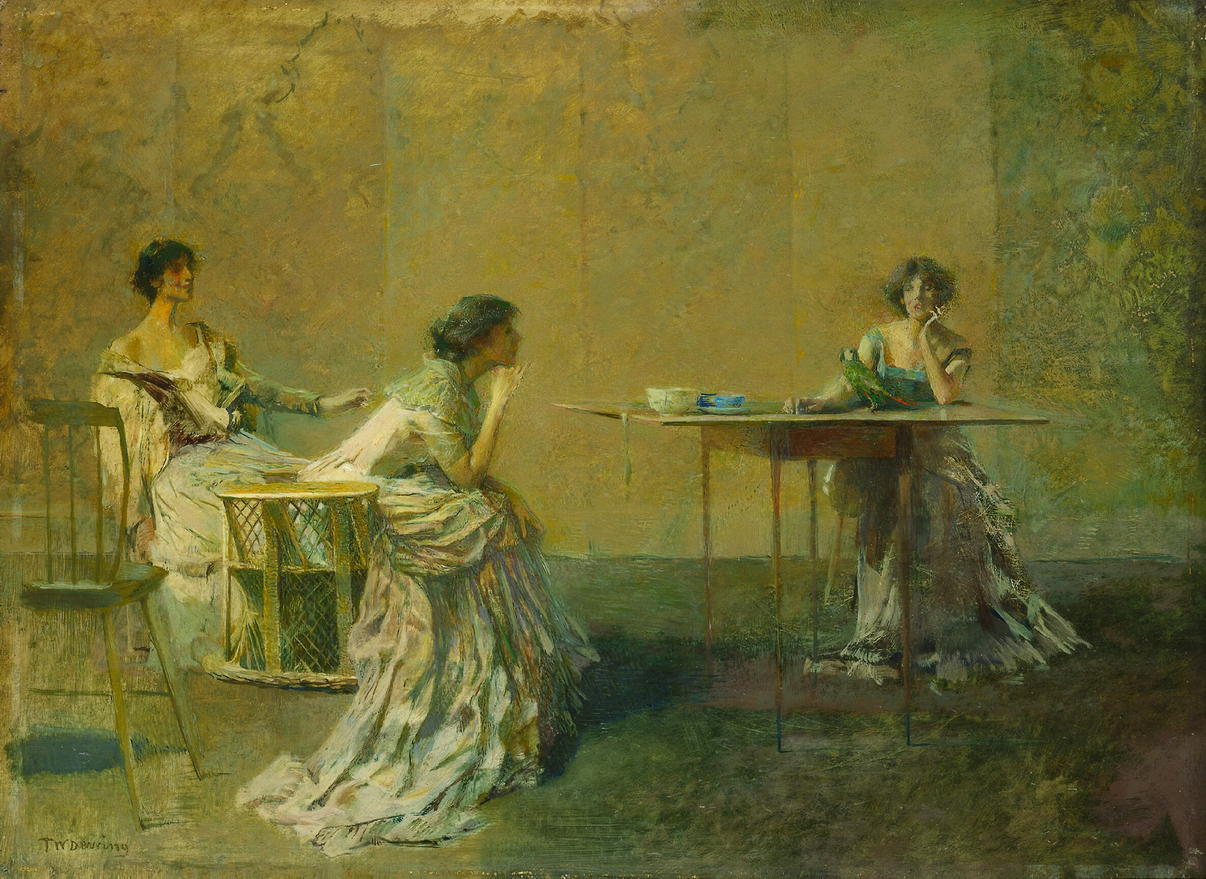 Thomas Dewing: The Gossip