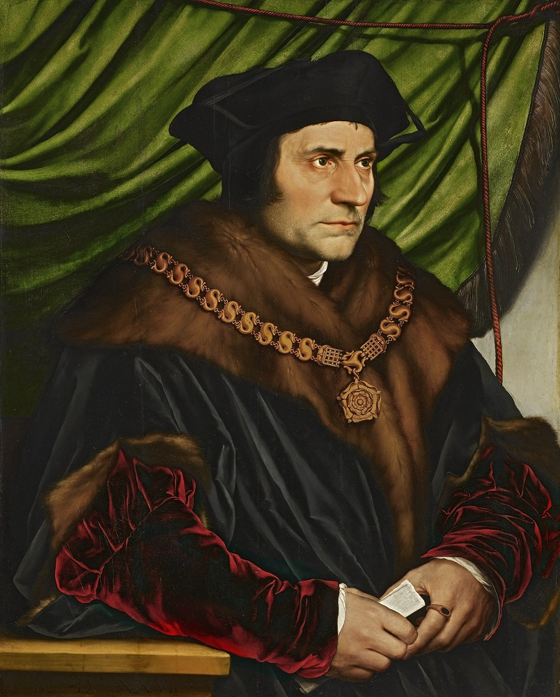 6.	Hans Holbein: Sir Thomas More, oil on panel, 29 ½ x 23 ¾ in. (74.9 x 60.3 cm), 1527, (New York The Frick Collection, Henry Clay Frick Bequest, Accession ID: 1912.1.77), image copyright The Frick Collection