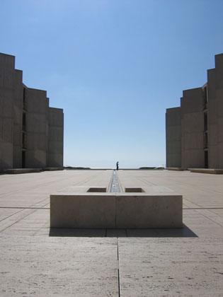 Louis I. Kahn: view of courtyard, Salk Institute for Biological Studies, La Jolla, CA, 1959–65; photograph taken in 2006 (New York, Museum of Modern Art, photograph by Lisa Mazzola); courtesy of The Museum of Modern Art, New York