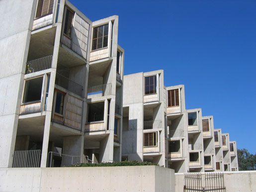 Louis I. Kahn: view of study towers, looking east, Salk Institute for Biological Studies, La Jolla, CA, 1959–65; photograph taken in 2006 (New York, Museum of Modern Art, photograph by Lisa Mazzola); courtesy of The Museum of Modern Art, New York