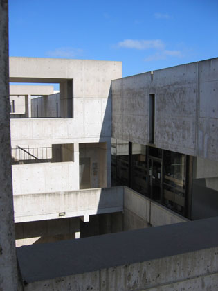 Louis I. Kahn: detail of laboratory, Salk Institute for Biological Studies, La Jolla, CA, 1959–65; photograph taken in 2006 (New York, Museum of Modern Art, photograph by Lisa Mazzola); courtesy of The Museum of Modern Art, New York