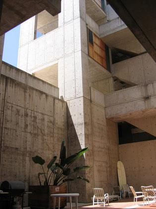 Louis I. Kahn: detail of courtyard, Salk Institute for Biological Studies, La Jolla, CA, 1959–65; photograph taken in 2006 (New York, Museum of Modern Art, photograph by Lisa Mazzola); courtesy of The Museum of Modern Art, New York