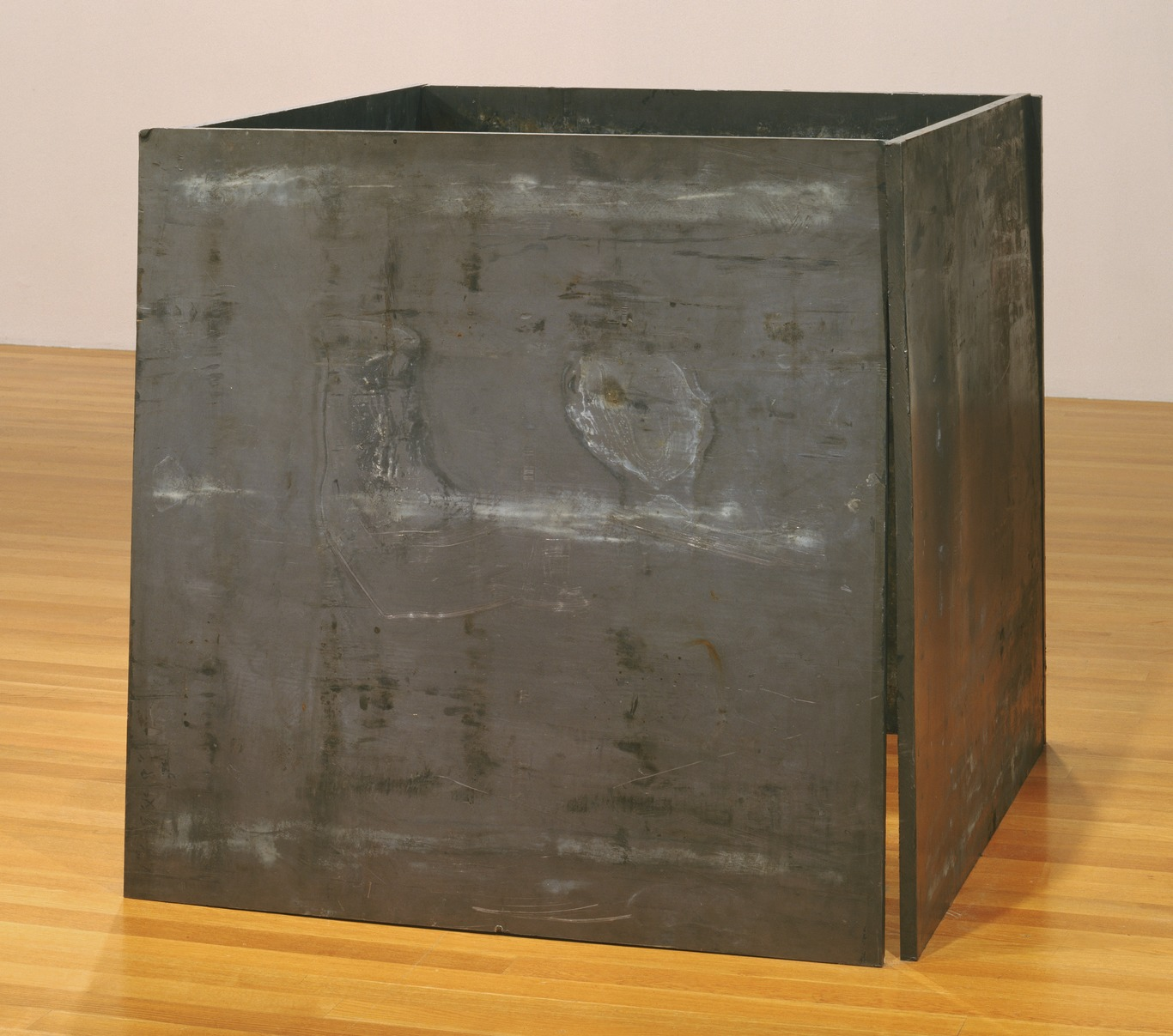 Richard Serra: One Ton Prop (House of Cards), lead antimony, four plates, each 1.22×1.22×0.025 m, 1969; refabricated 1986 (New York, Museum of Modern Art); © 2007 Richard Serra/Artists Rights Society (ARS), New York, courtesy of The Museum of Modern Art, New York