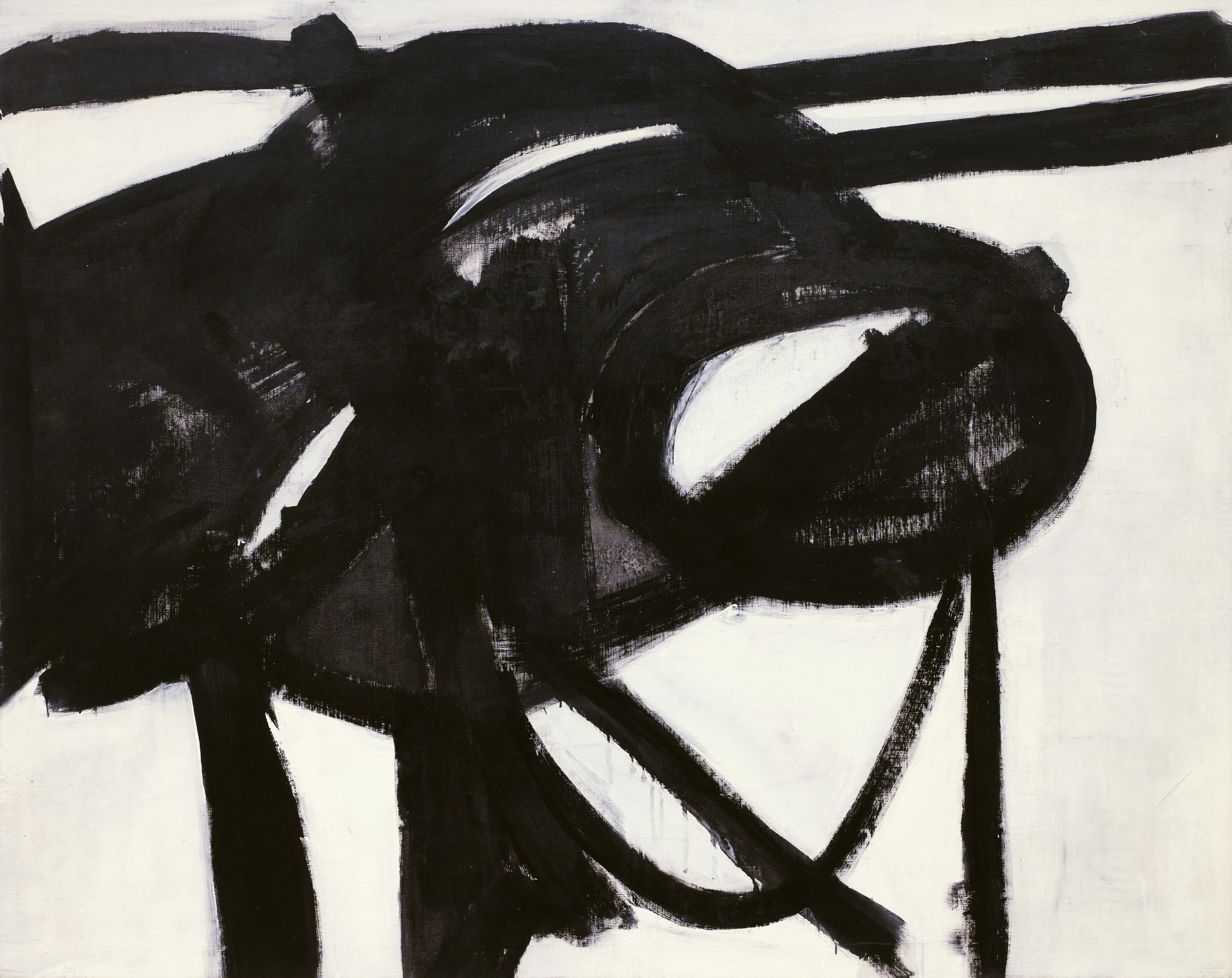 Franz Kline: Chief, oil on canvas, 1.48×1.87 m, 1950 (New York, Museum of Modern Art); © 2007 The Franz Kline Estate/Artists Rights Society (ARS), New York, courtesy of The Museum of Modern Art, New York