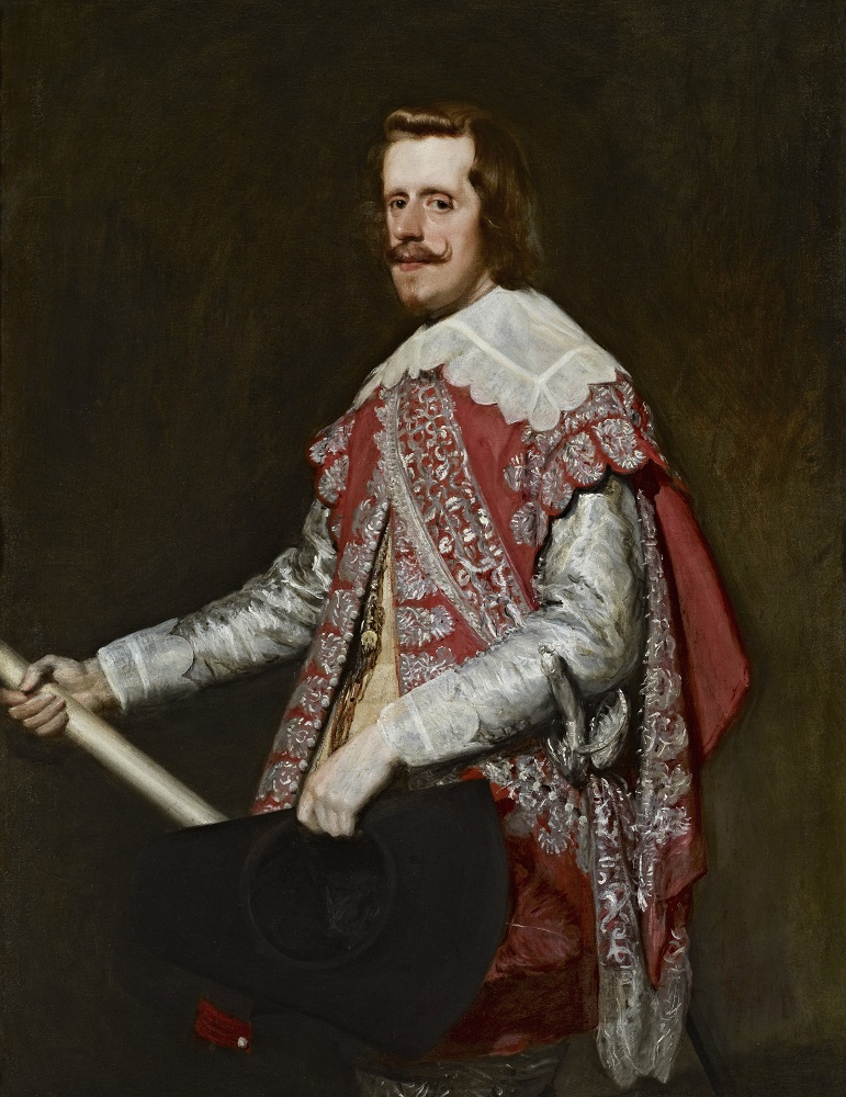 Diego Rodríguez de Silva y Velázquez: King Philip IV of Spain, oil on canvas, 51 1/8 x 39 1/8 in. (129.9 x 99.4 cm), 1644, (New York The Frick Collection, Henry Clay Frick Bequest, Accession ID: 1911.1.123)
