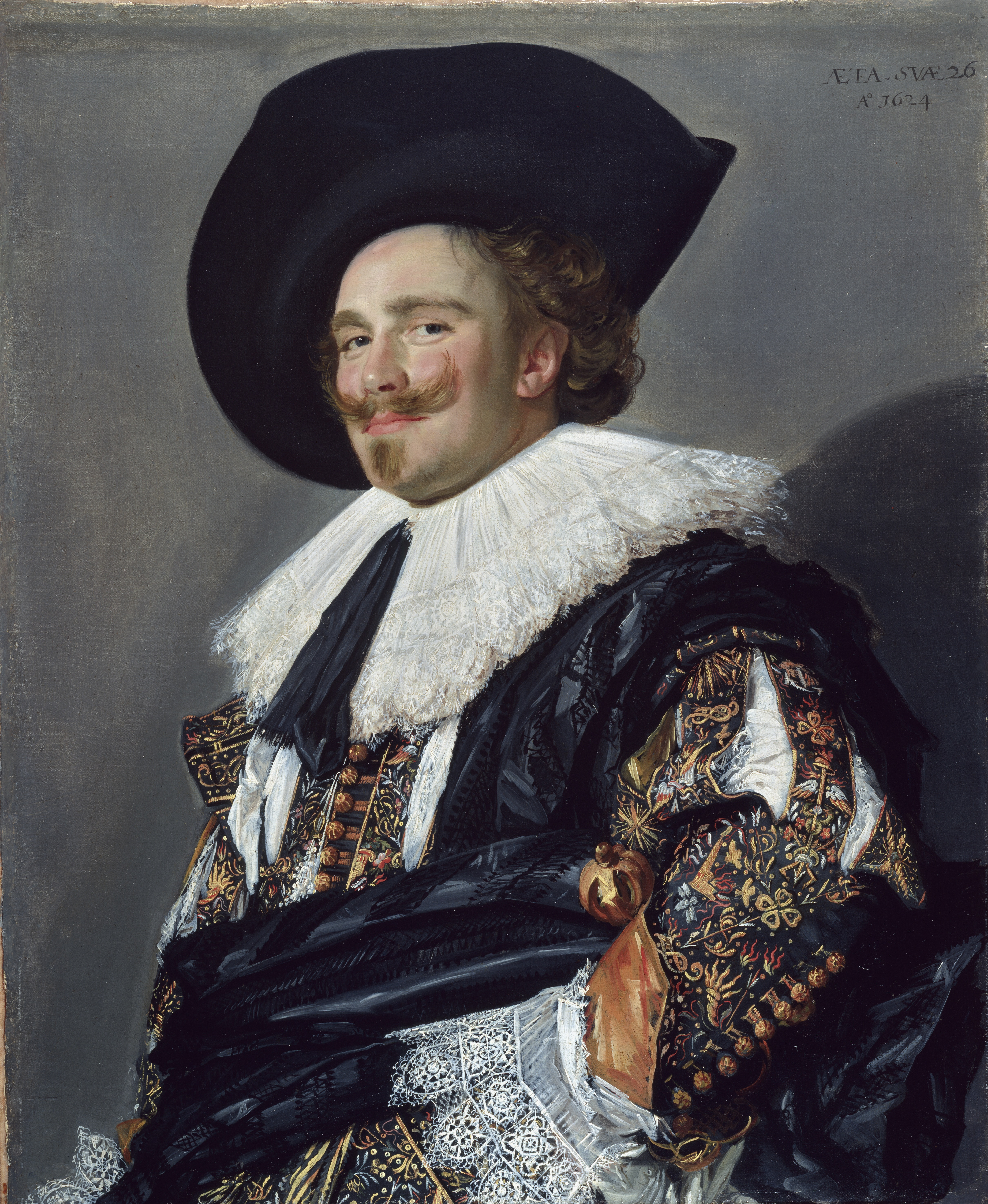 Frans Hals: The Laughing Cavalier, oil on canvas, 83 x 67.3 cm, 1624, (London: The Wallace Collection, Object No. P84), image courtesy of The Wallace Collection