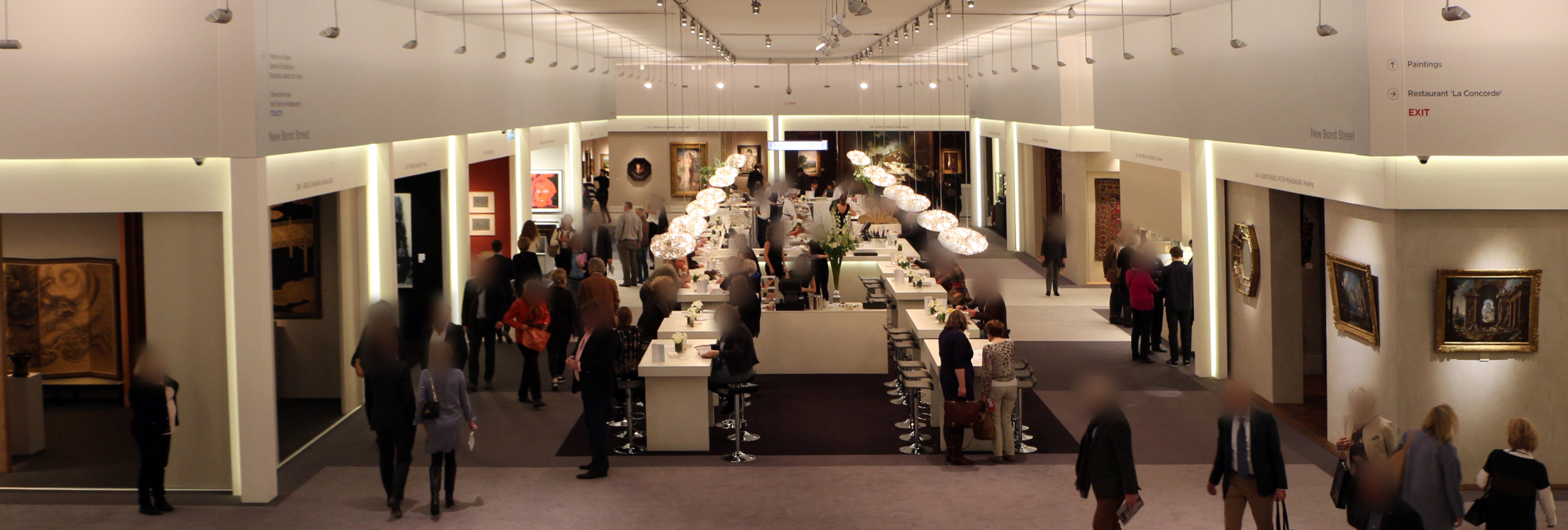 TEFAF (The European Fine Art Fair) in Maastricht, the Netherlands, 2014; image courtesy of Saiko, Wikimedia Commons
