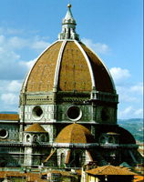 Filippo Brunelleschi: dome of Florence Cathedral, 1418–36; photo credit: Scala/Art Resource, NY