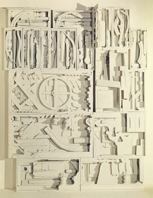 A work of art by Louise Nevelson