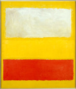 Mark Rothko: No.             13 (White, Red on Yellow), oil and acrylic with powdered pigments on canvas, 2.423×2.067 m, 1958 (New York, Metropolitan Museum of Art, Gift of The             Mark Rothko Foundation Inc, 1985, Accession ID: 1985.63.5); © 2011 Kate Rothko Prizel & Christopher Rothko/Artists Rights Society (ARS), New             York; image © The Metropolitan Museum of Art