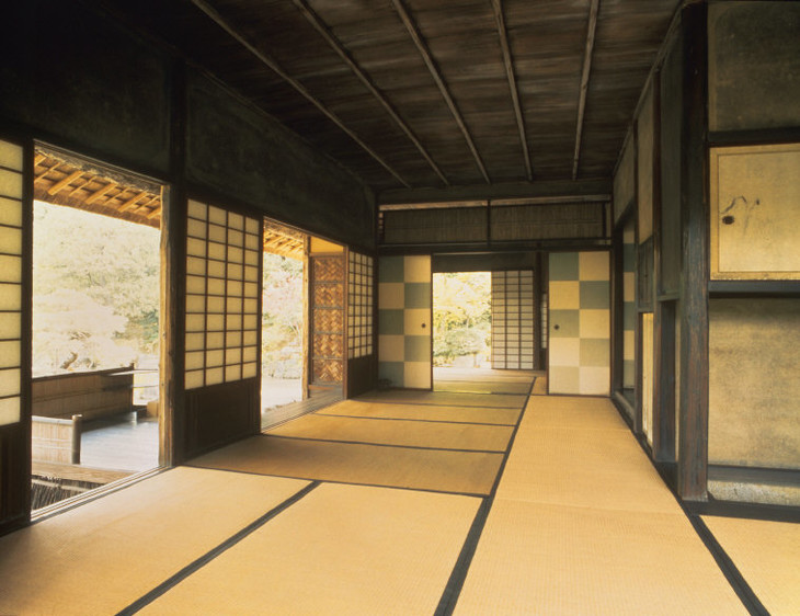 Interior of the formal tea-house, Katsura Detached Palace, Kyoto, c.  1616–63; photo credit: Werner Forman/Art Resource, NY