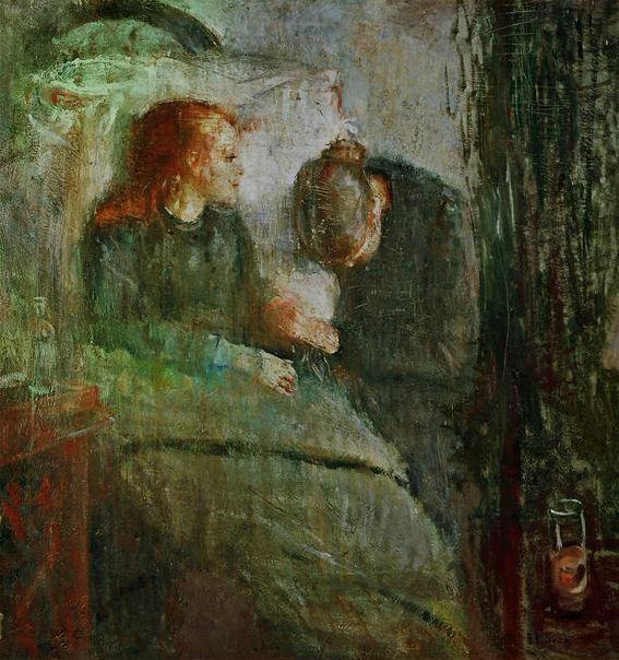 Munch Edvard Grove Art